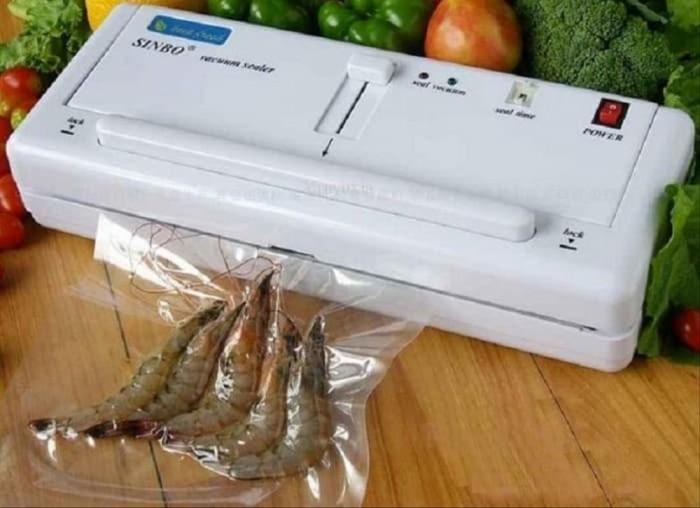 Jual Mesin Vacuum Sealer Makanan Vakum Vacum Vaccum Seal Alat ...