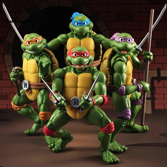 Jual Stc 6inch Teenage Mutant Ninja Turtles Action Figure Model Kids Jakarta Barat Seventeenn Tokopedia