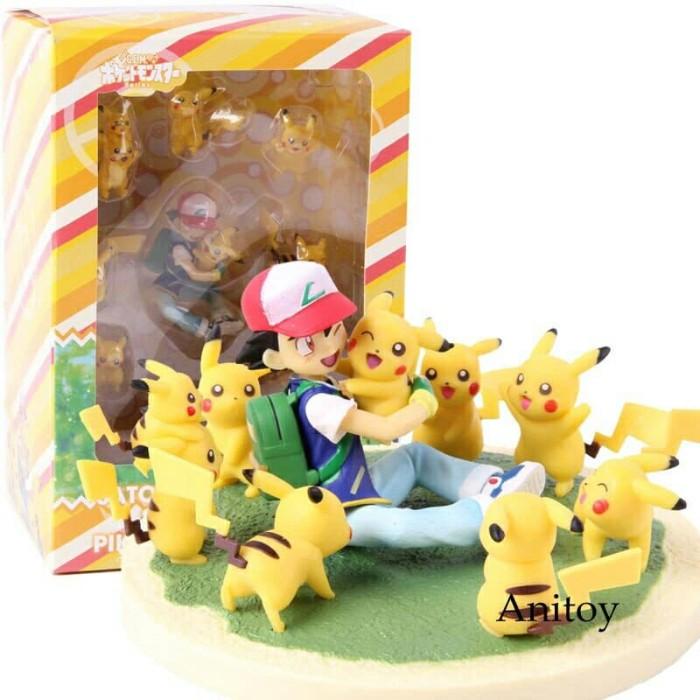 Jual Action Figure Pokemon Satoshi Pikachu Mainan Anak Pokemon Pikachu Kab Bekasi Rania Store16 Tokopedia