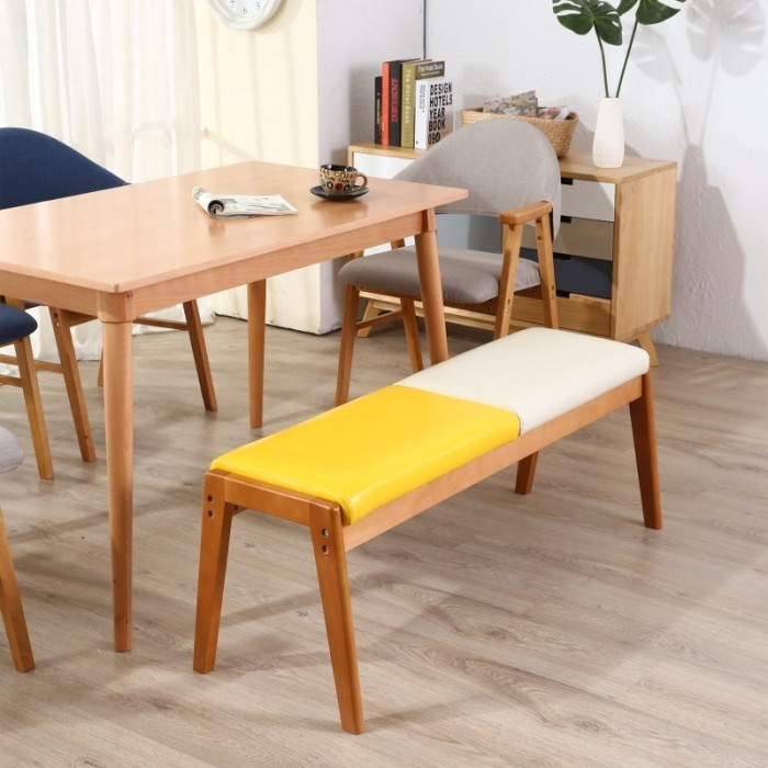 Jual Furniture Bench Solid Wooden Bench Dining Chair Bed Stool Jakarta Barat Wella Store Tokopedia
