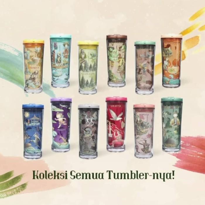 Tumbler Starbucks Folklore Semarang 18th Anniversary 2020 Limited