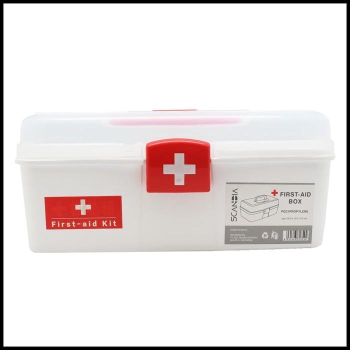 Jual Scandia Kotak Obat Murah First Aid Kit Box Medicin Jakarta Pusat Nolastafford Tokopedia