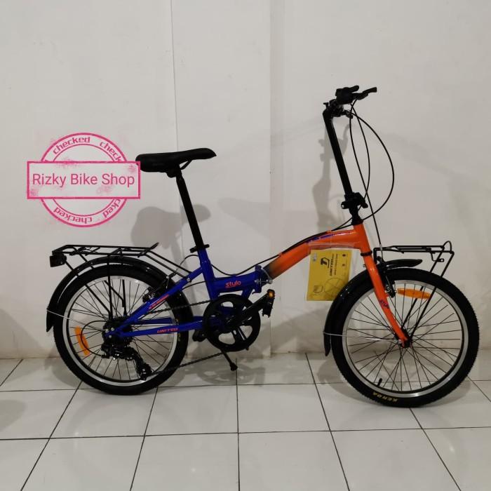"Jual Sepeda Lipat Folding Bike Merk United Stylo 20"" - Kab ..."