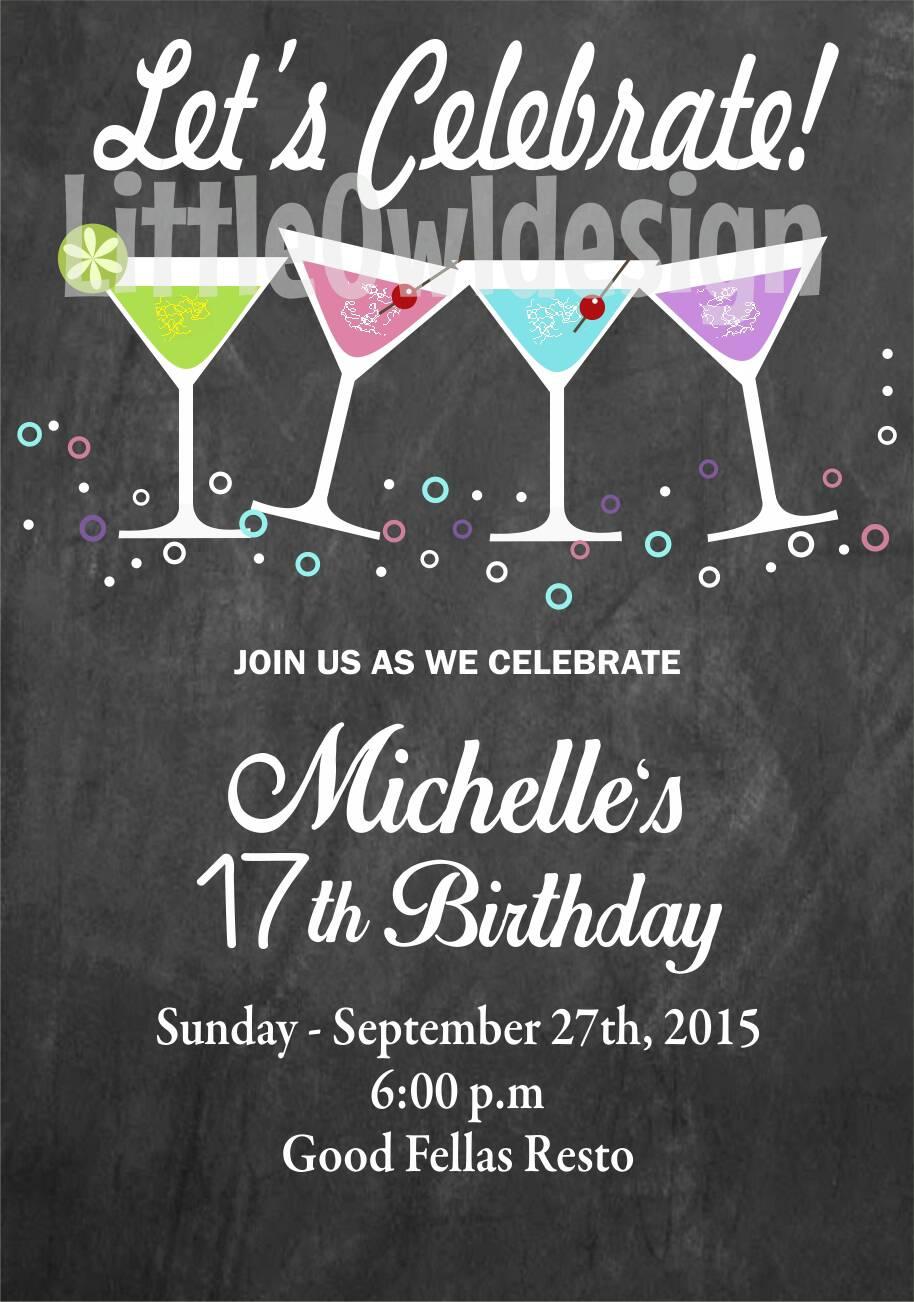 Contoh Invitation Pesta Ulang Tahun Contoh Two