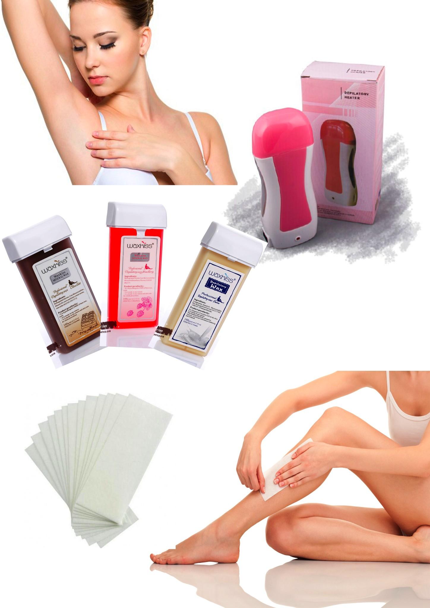 Jual Roll On Wax Set Penghilang Bulu Ketiak Underarm Tangan Kaki Dll Twind Supplier Tokopedia
