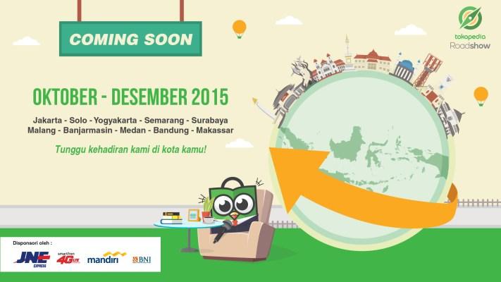 Sudah Siap untuk Jadi Bagian dari Tokopedia Roadshow 2015?