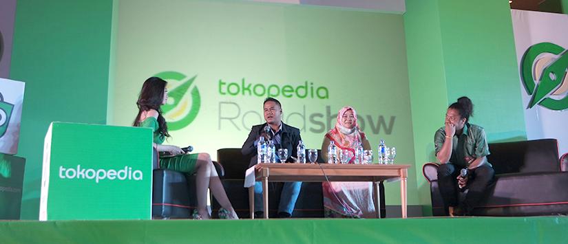 Tokopedia Roadshow 2015 Makassar : Ciptakan Peluang Bersama Tokopedia? Pasti Bisa Ji!