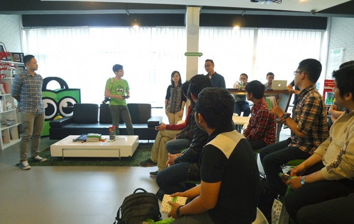 Acara meetup Tech Talk @Tokopedia!