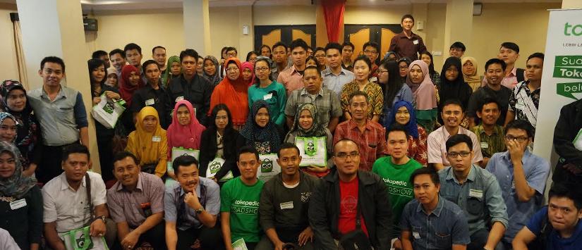 Tokopedia Roadshow 2015: Intip Perjalanan Seru Tim Tokopedia ke Kota Pempek, Palembang