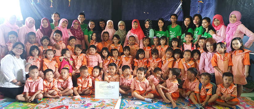 Tokopedia CSR: Dukung Pendidikan, Tokopedia Berbagi Ilmu Bersama Paud Rama-Rama