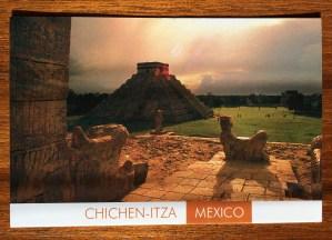 Postcard of Chichen Itza