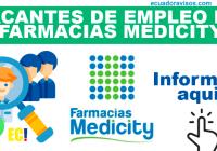 empleo farmacias medicity