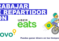 repartidor uber eats glovo