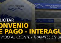 www-interagua-com-convenio-de-pago-en-línea-trámites