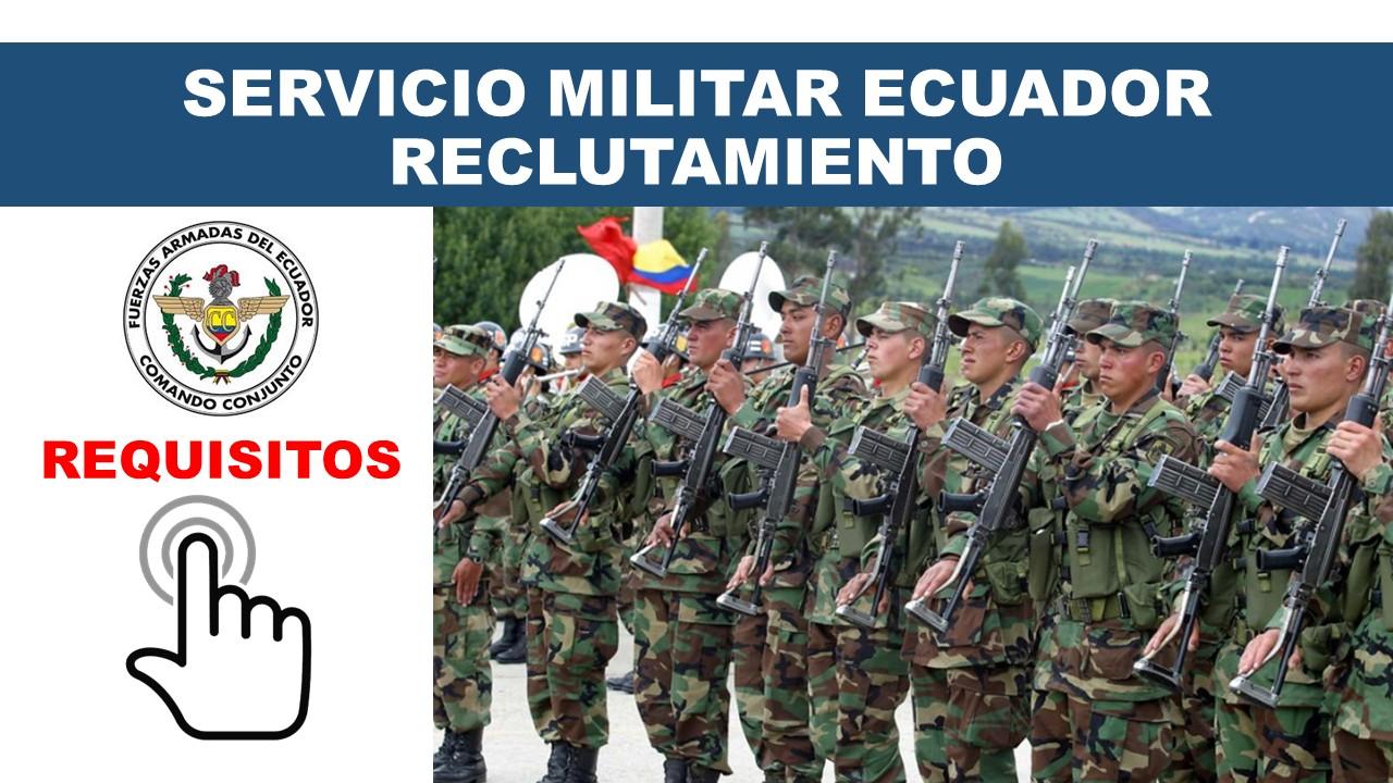 Servicio Militar Voluntario (Acuartelamiento) Ecuador