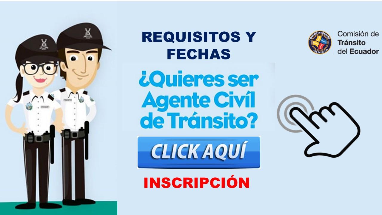 Reclutamiento CTE Comisión de Transito Ecuador