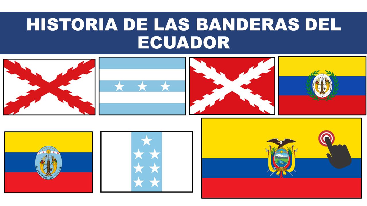 Historia de las Banderas del Ecuador