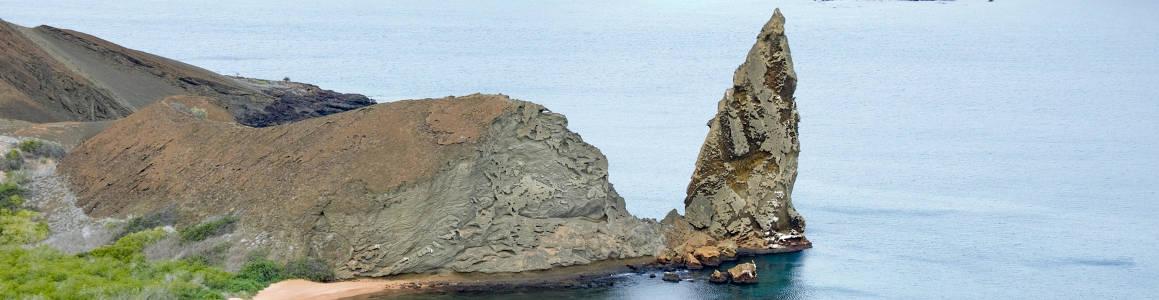 Roca Pináculo en la Isla Bartolomé.