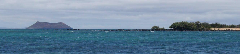 Islote en el archipiélago de Galápagos.