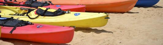 Kayaking en Galápagos.