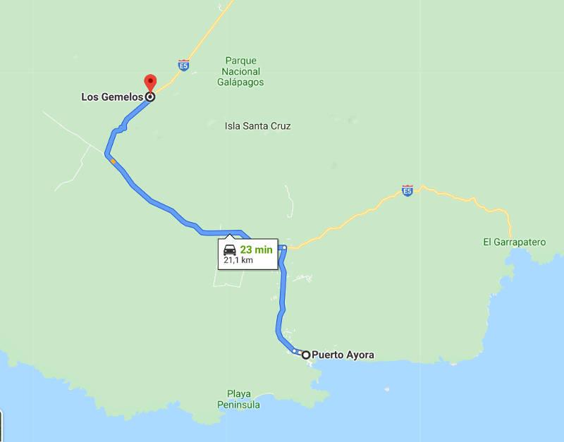 Camino desde Puerto Ayorra.