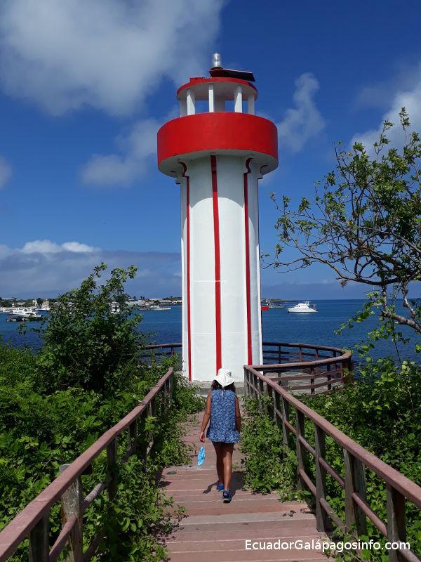 Faro Playa Mann.