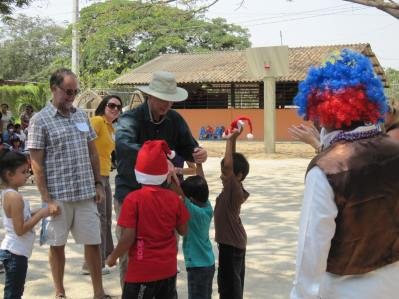 Christmas Ecuador Public School Celebration