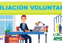afiliacion voluntaria iess