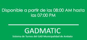 turnos-matriculacion-vehicular-horario-gadmatic