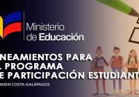 participacion-estudiantil-mineduc-lineamientos-ecuador
