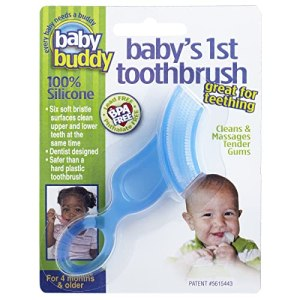 Baby Buddy Baby's 1st Toothbrush Teether