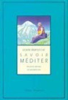 Livres Couvertures de Savoir Méditer