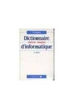 Livres Couvertures de Dictionnaire anglais-français d'informatique