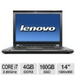 Thinkpad T420S 14″ 160GB Ssd for $1532.99 + Shipping