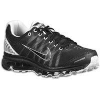 Buy Nike Air Max + 2009 Mens Running Shoes [486978-010] Black/Black-White 486978-010-7