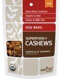 Navitas Naturals Goji Basil Superfood+ Cashews 4 oz
