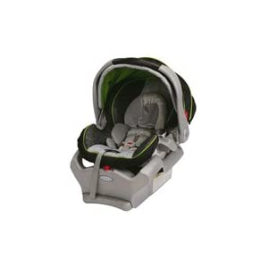1 graco snugride classic connect 35lb infant car seat dotties green special offer car seats. Black Bedroom Furniture Sets. Home Design Ideas