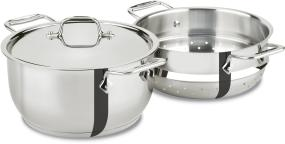 All-Clad Stainless Steel 5-Quart Steamer with 4-Quart Insert