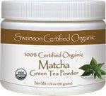 100% Certified Organic Matcha Green Tea 1.76 oz (50 grams) Pwdr