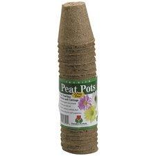 3-Inch Round Peat Pots