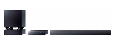 Sony HT-CT550W 3.1 Soundbar mit Wireless Subwoofer (400 Watt, 3 HDMI-Eingänge) schwarz