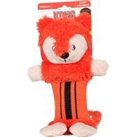 KONG Fire Hose Friends Cuddly Squeak Crinkle Sound Dog Interactive Toy, Large