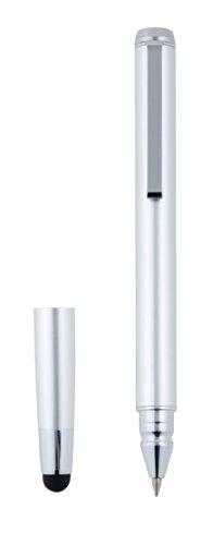 プリンストン ナノテク素材採用ボールペン付きタッチペン シルバー PSA-TPP5S