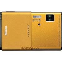 Nikon CoolPix S80 14.1 Megapixel Digital Camera, Gold - Refurbished by Nikon U.S.A.