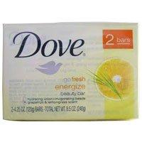 Dove go Fresh Energize Beauty Bar - 4.25 Oz, 2 Bars