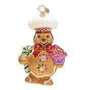 Ginger Baker Glass Christmas Ornament