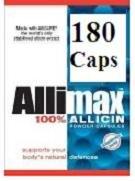 Allimax 180 Count Capsules (180mg) 100% Allisure AC-23