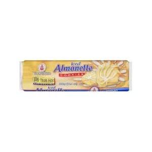 Voortman Iced Almonette Cookies 14.1 oz (Pack of 4)