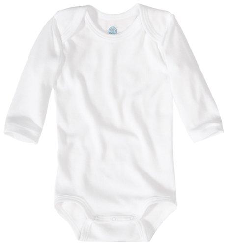 Organic Cotton weiss Sanetta 308500 Body langarm Basic Collection