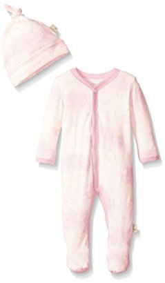 Burts-Bees-Baby-Organic-Toile-Snap-Front-Coverall-and-Hat-Set